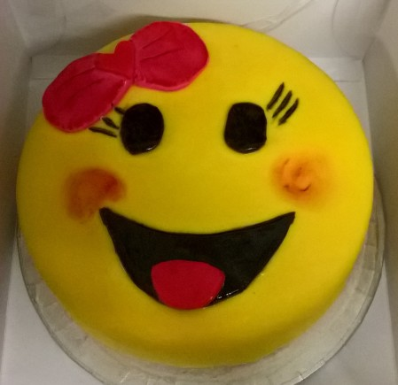 Emoji Birthday Cake The Cake Man Rocks