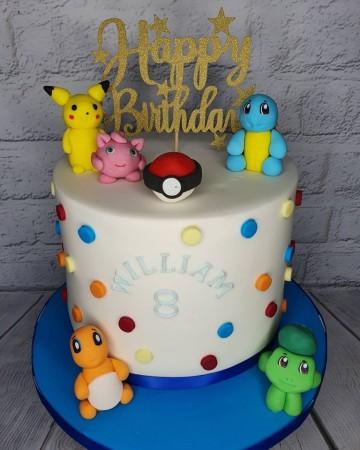 Character Sponge Cake