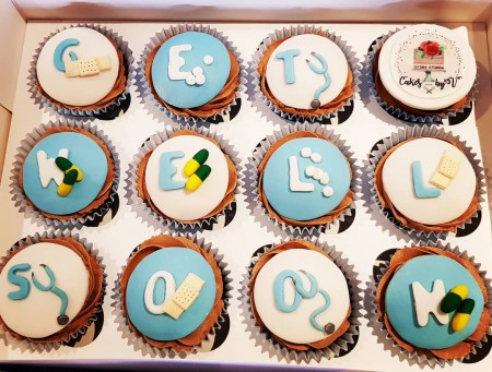 Bespoke cupcakes- bright and chocolately for male (no NUTS)