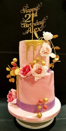 Prime 21St Birthday Cake Cakes By V Personalised Birthday Cards Beptaeletsinfo