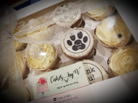 Bespoke cupcakes- Thank you