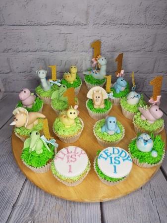 EGG FREE Dinosaur Cupcakes