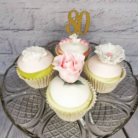Cupcakes for Big Kids Buttercream and Fondant Toppers