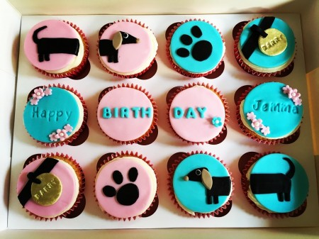 Doggy Cupcakes