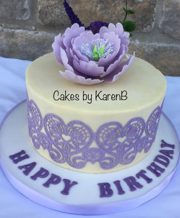 Lace cake - Design 1