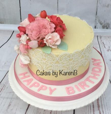 Lace cake - Design 2