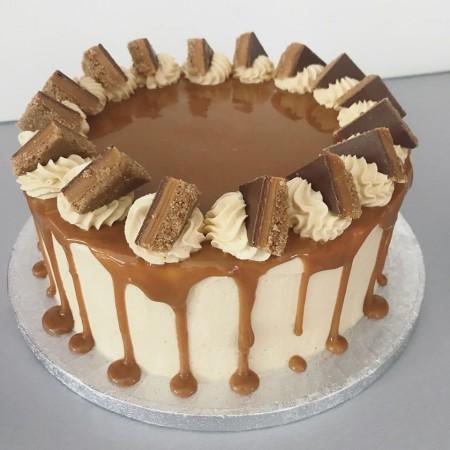 Salted Caramel Millionaire Cake
