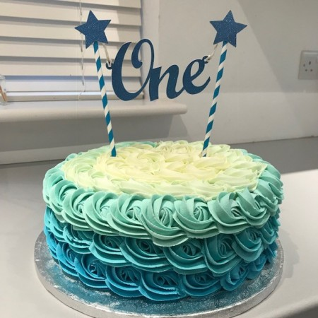 Magnificent 1St Birthday Cake Boy Bakerbones Personalised Birthday Cards Veneteletsinfo