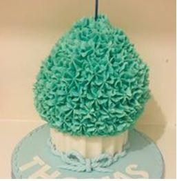 Giant  cupcake - choose your colour