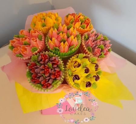 10 Gluten Free Cupcake Bouquet