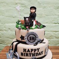 2 Tier Horse cake
