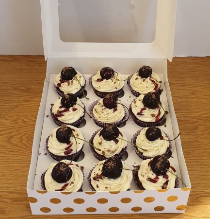 Black Forest Cupcake