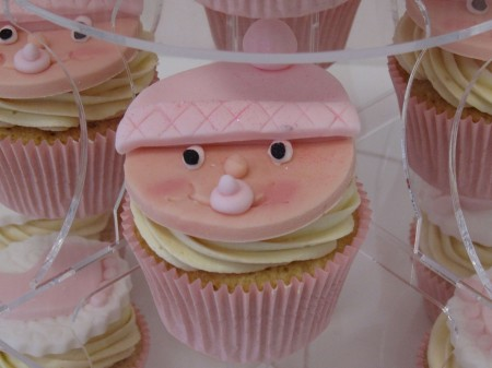 Baby Shower Cupcakes- choose your colour
