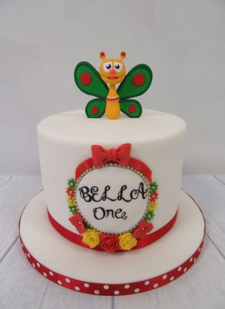 Single Tier Childrens Birthday Cakes
