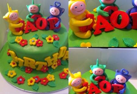 Children's Birthday Cakes- free from