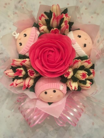 Baby Cupcake Bouquet