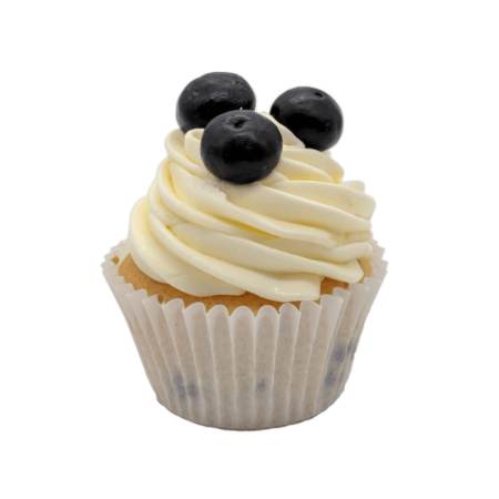 Lemon and Blueberry Cupcake