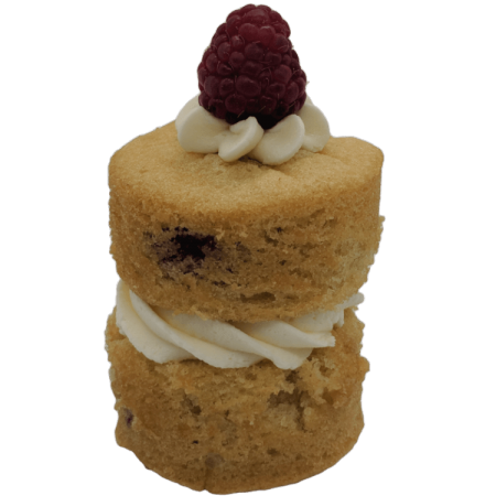 Raspberry and White Chocolate Miniature