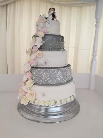 A Wedding Cake- Silver Example