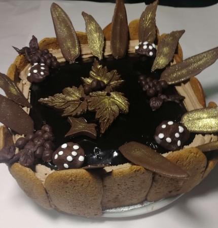 Chocolate Raspberry mousse