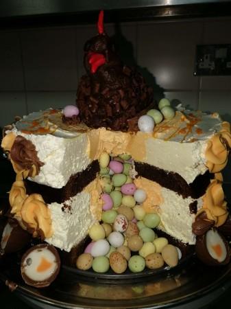 Chocolate Eggs cake Swindon