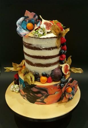 Album artwork cake