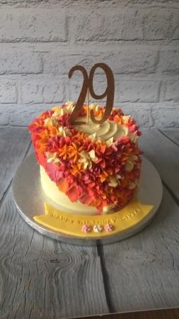 Cascading Summer Flowers Cake Francesca S Cake Company