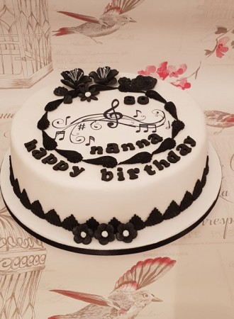 Musical Themed Birthday Cake