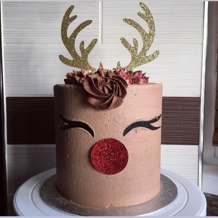 Rudolph Reindeer Cake