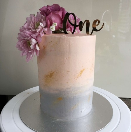 Pastel Cake without topper