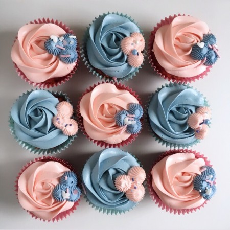 Colour Themed Cupcakes