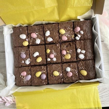 Vegan Mini Egg  Brownies *Postal*