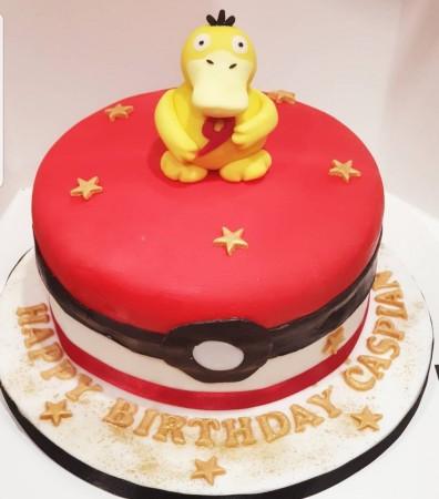 Psyduck - character cake