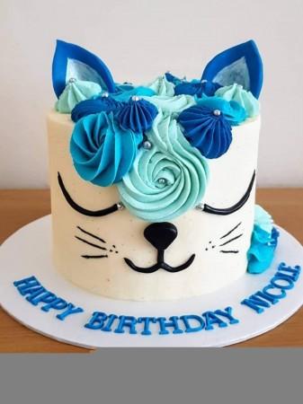 Cat Cake (Unicorn Style)