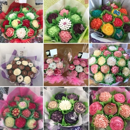 Cupcake Bouquet 12,19 or 24 cupcakes