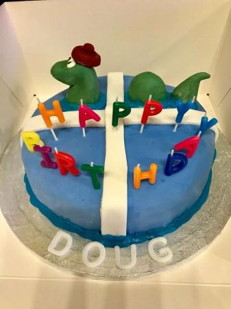 """Novelty 10"""" Cake"""