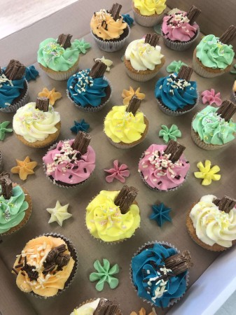 Colourful Fairy Size Cupcakes