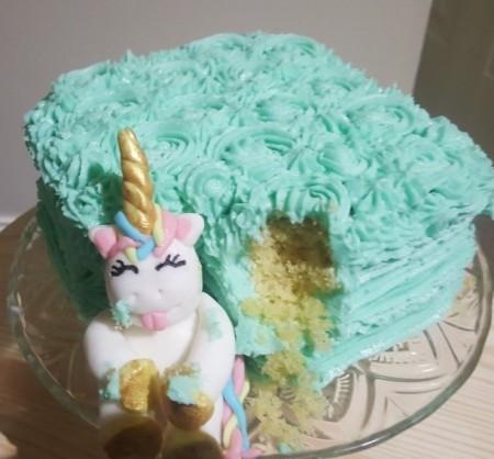 Hungry Unicorn Cake