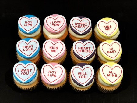 Loveheart Cupcakes