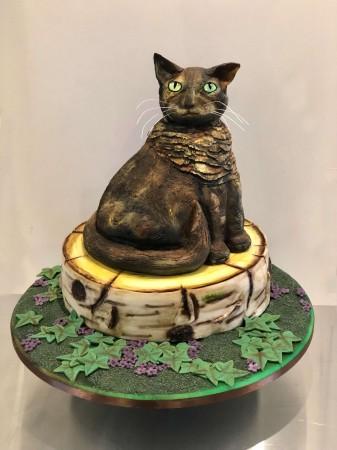 Cat on a log slice