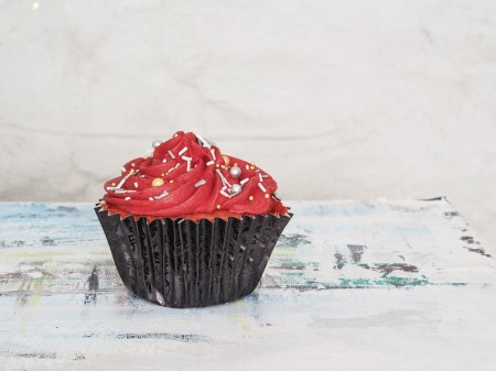 Bloody Mary Cupcake
