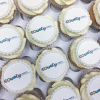 Corporate Cupcakes - edible image