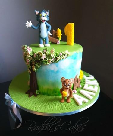 Tom & Jerry cake
