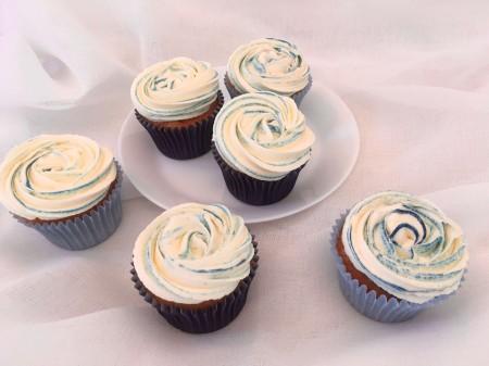 Colour Swirl Cupcakes