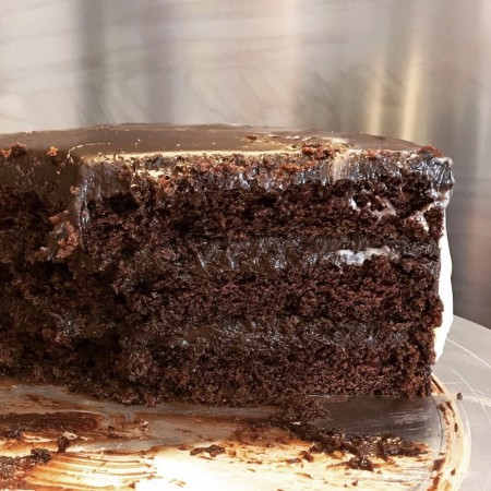 Brooklyn Blackout Hummingbird chocolate cake