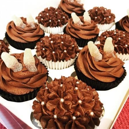 Jack Daniels Boozy Cupcakes