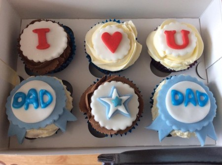 """Father""""s Day Cupcakes"""