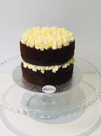 Classic Chocolate sponge and Vanilla buttercream Cake
