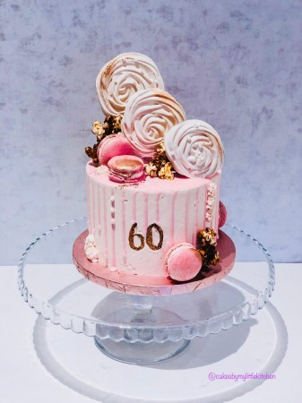 Drip Cake - Available in a variety of colours