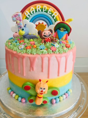 Baby tv cake - 8 inches
